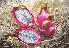 Dragon fruit close up Stock Image