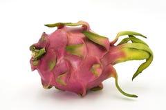 Dragon Fruit. Close up on white background Royalty Free Stock Photos
