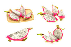 Dragon fruit collection Stock Images