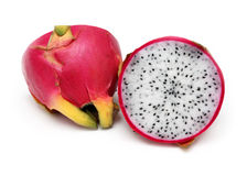 Dragon fruit cut Stock Photos