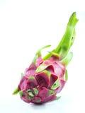 Dragon Fruit en aislante del fondo de la pizca Fotografía de archivo libre de regalías