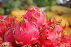 Beautiful dragon fruit of Asia Royalty Free Stock Photography
