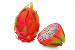 Dragon fruit and half Royalty Free Stock Photography