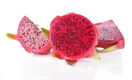 Dragon Fruit a isolé sur le fond blanc Images libres de droits
