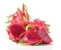 Dragon Fruit a isolé sur le fond blanc Photo libre de droits