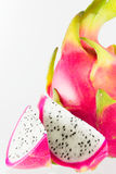 Dragon fruit isolated. Dragon fruit on a white background Stock Photography