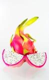 Dragon fruit isolated. Dragon fruit on a white background Royalty Free Stock Image