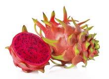 Dragon Fruit isolated against white background. Royalty Free Stock Photo