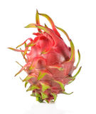 Dragon Fruit isolated against white background. Royalty Free Stock Photography