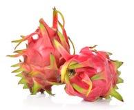 Dragon Fruit isolated against white background. Stock Image