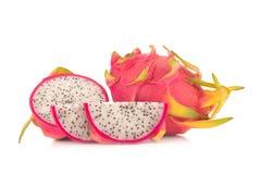 Dragon Fruit isolated against white background Stock Image
