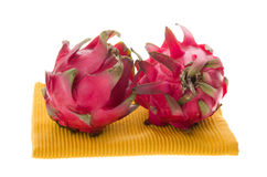 Dragon fruit isolated on background Stock Photography