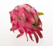 Dragon fruit isolated on background. Dragon fruit isolated on white background Stock Photo