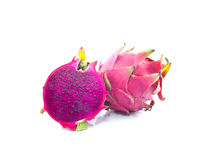Dragon Fruit isolated. On white background Stock Photo