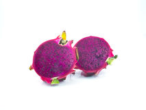 Dragon Fruit isolated. On white background Royalty Free Stock Images