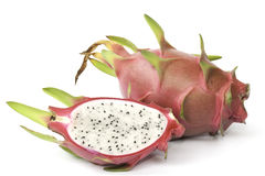 Dragon fruit isolated Royalty Free Stock Photos