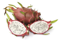 Dragon fruit isolated Royalty Free Stock Image
