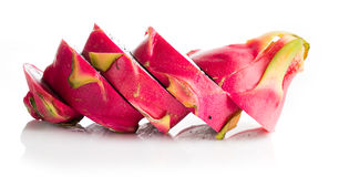 Dragon Fruit isolated  white background. Stock Photography