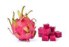 Dragon fruit isolated on white background Stock Images