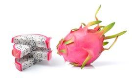 Dragon Fruit isolated on white background Royalty Free Stock Image