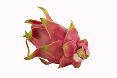 Dragon fruit isolated Royalty Free Stock Images
