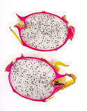 Dragon fruit isolted Royalty Free Stock Images