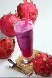 Dragon fruit juice Stock Image