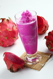Dragon fruit juice Royalty Free Stock Photos