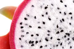 Dragon Fruit Macro Royalty Free Stock Photo