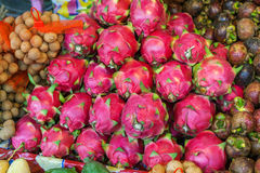 Dragon fruit on market Stock Photography