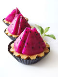 Dragon Fruit Pie Royalty Free Stock Photo