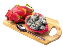 Dragon fruit pitahaya pitaya Royalty Free Stock Images