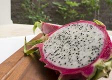 Dragon fruit pitahaya pitaya tropical healthy Thai concept Royalty Free Stock Photo
