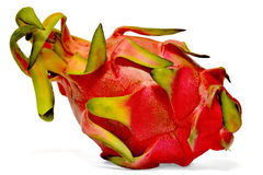 Dragon fruit or pitaya  on white Stock Images