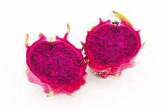 Dragon fruit. Red Dragon fruit isolate on white background Stock Images