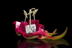 Dragon fruit. Royalty Free Stock Image