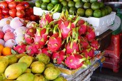 Dragon fruit for sale Stock Photos