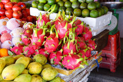 Dragon fruit for sale Royalty Free Stock Photos