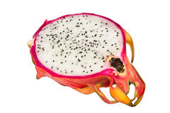 Dragon fruit section Stock Photography