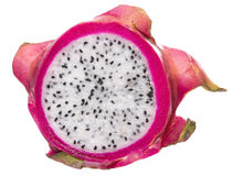 Dragon fruit slice Royalty Free Stock Photo