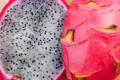 Dragon fruit. stock images