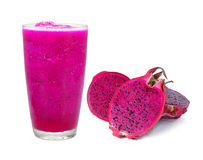 Dragon fruit smoothie Royalty Free Stock Photography