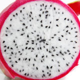 Dragon fruit transection close-up Stock Photography