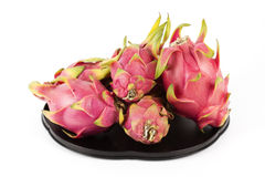 Dragon fruit on the tray Stock Photo