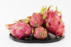 Dragon fruit on the tray Stock Image