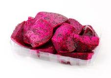 Dragon Fruit vermelho Imagem de Stock