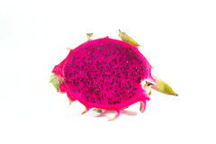 Dragon fruit. On a white background Royalty Free Stock Photos