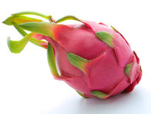 Dragon fruit on white background Royalty Free Stock Photo