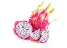 Dragon fruit. On White background Royalty Free Stock Image