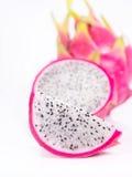 Dragon fruit. On White background Stock Photo